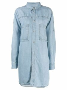 Diesel DE-Sup shirt dress - Blue