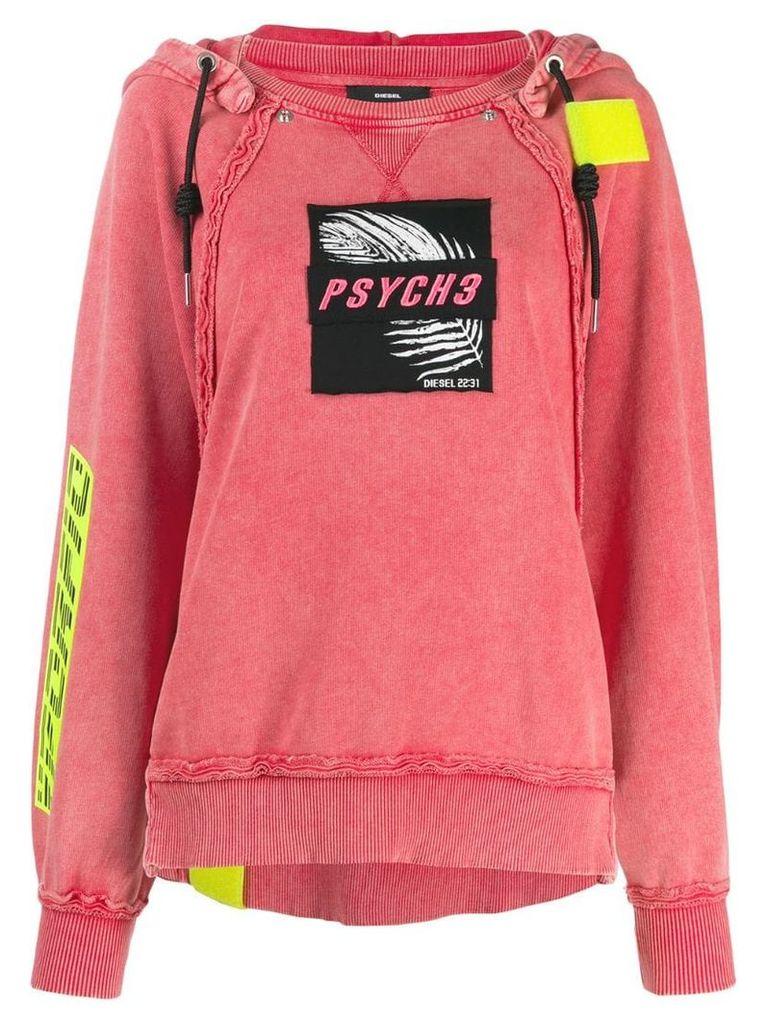 Diesel F-Carol hoodie - Red