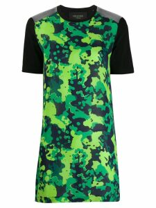 Mr & Mrs Italy camo T-shirt dress - Green