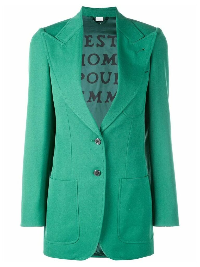Gucci tailored blazer - Green