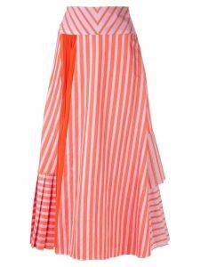 Silvia Tcherassi Brezzo a-line skirt - Orange