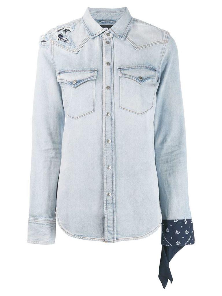 Diesel DE-Bandy denim shirt - Blue
