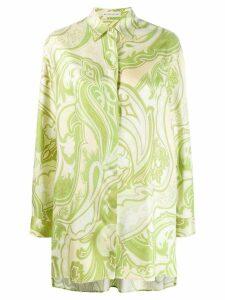 Etro paisley print shirt - Green