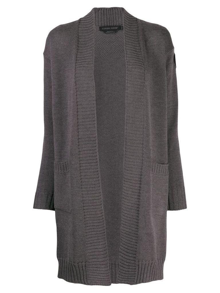 Canada Goose open front cardigan - Grey