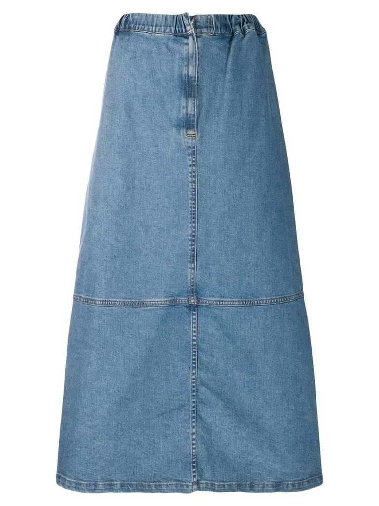 Zucca A-line denim skirt - Blue