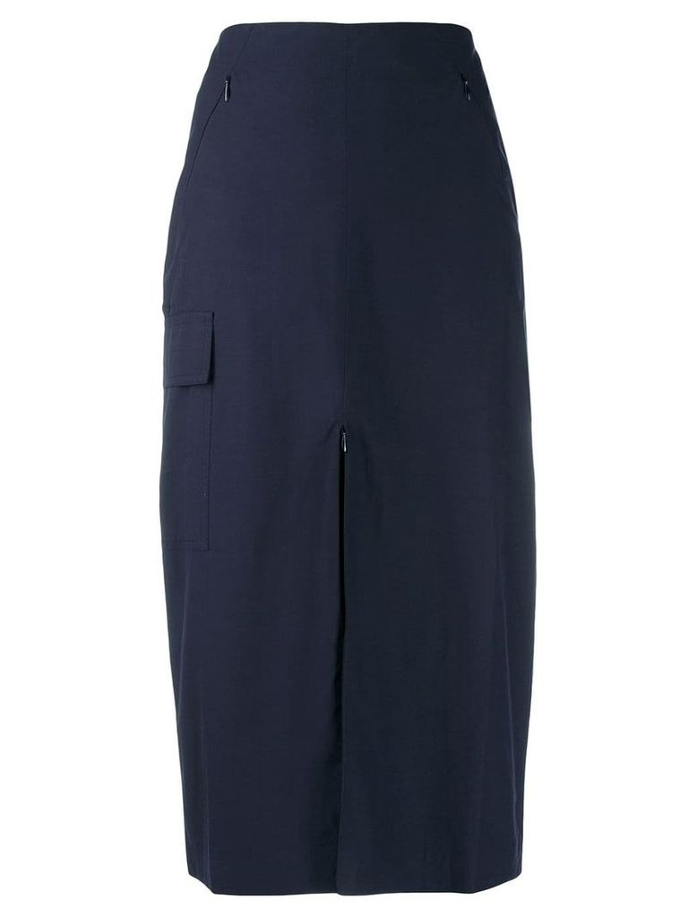 Aalto classic pencil skirt - Blue