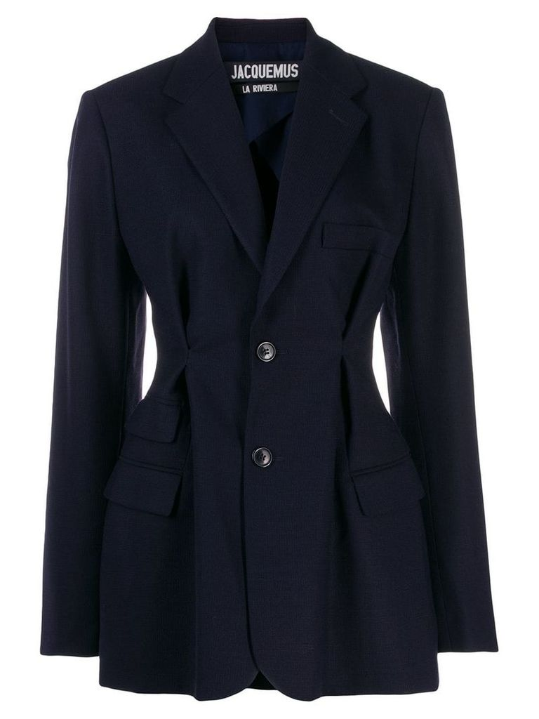 Jacquemus fitted blazer - Blue