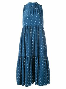 Asceno polka dot dress - Oasis Blue Polka Cw30