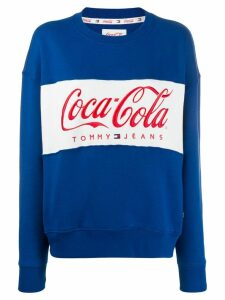 Tommy Jeans Tommy Jeans x Coca Cola sweatshirt - Blue