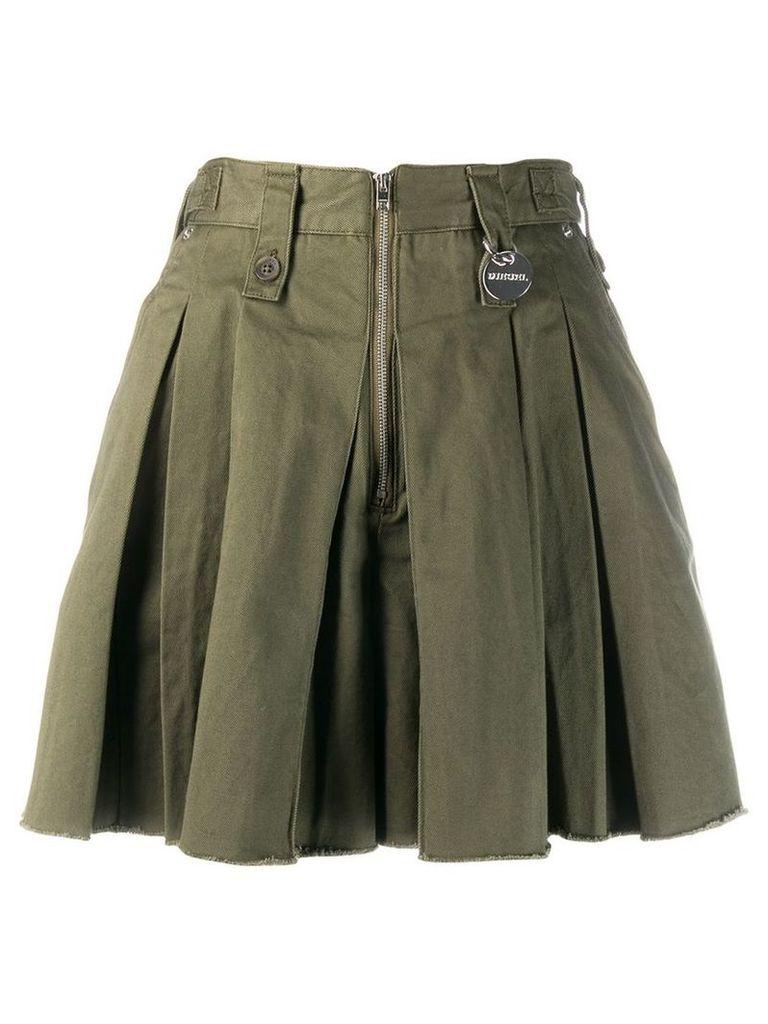 Diesel S-Eden skirt-effect shorts - Green