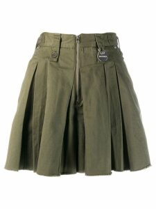 Diesel S-Eden skirt-effect shorts - Green