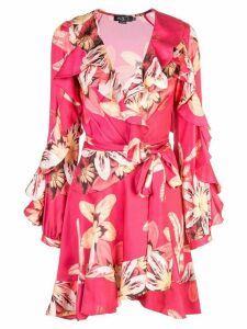 Patbo floral wrap dress - Pink