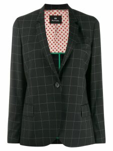 PS Paul Smith windowpane check blazer - Black