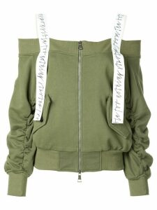 Haculla off the shoulder sweatshirt - Green