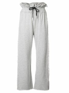 Haculla wide leg track trousers - Grey