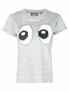 Mostly Heard Rarely Seen 8-Bit All Eyez On Me T-shirt - Grey