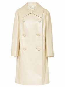 Miu Miu double-breasted coat - Neutrals