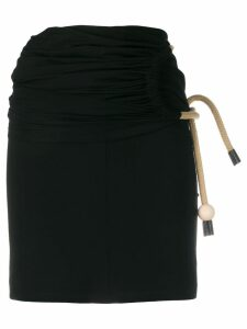 Ports 1961 short fitted skirt - Black