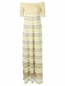 M Missoni long off-the-shoulder dress - Multicolour