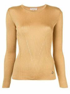 Emilio Pucci ribbed sweater - Yellow