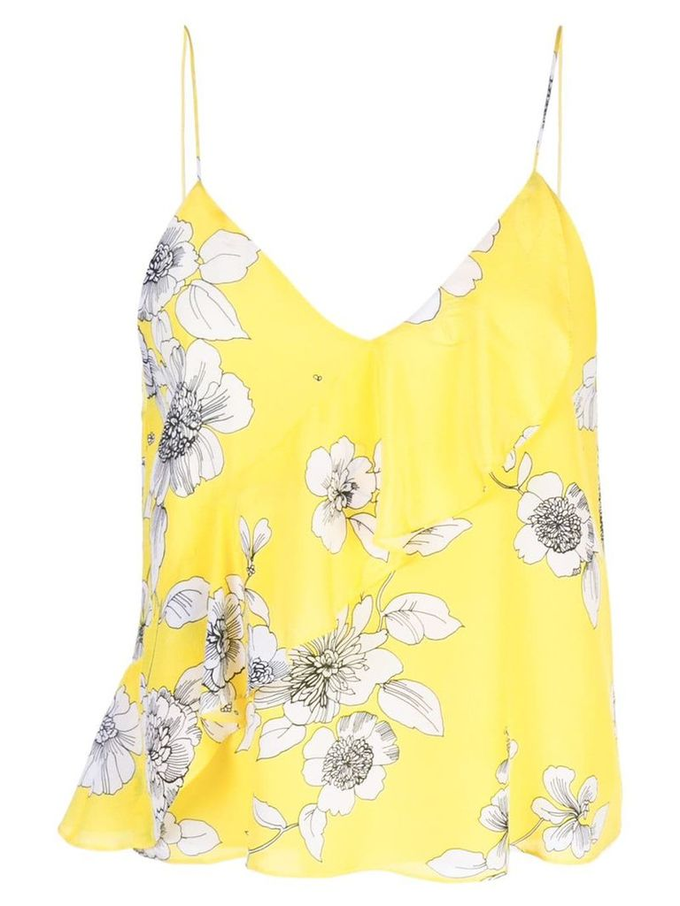 Alice+Olivia Lavonia camisole top - Yellow