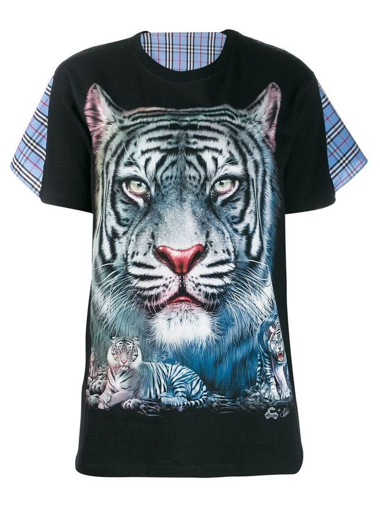 Wendy Jim tiger print T-shirt - Black