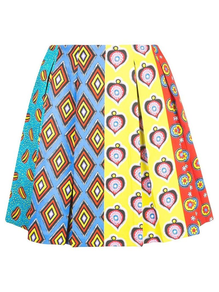Alice+Olivia Conner skirt - Multicolour