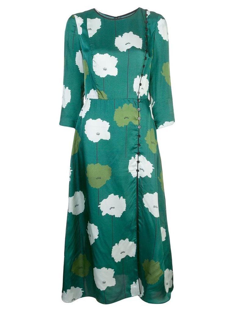 Carolina Herrera floral midi dress - Green