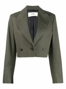 Ports 1961 cropped blazer - Green