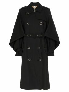 Burberry gabardine trench coat - Black