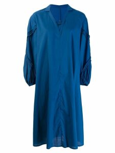 Zucca mid-length dress - Blue