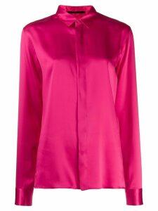 Haider Ackermann classic long-sleeved shirt - Pink