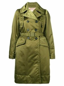 Nº21 loose fitted coat - Green