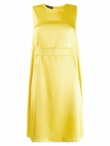 Gianluca Capannolo belted midi dress - Yellow
