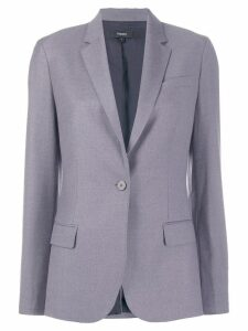 Theory classic one button blazer - Purple