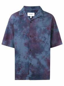 Makavelic tie-dye print shirt - Blue