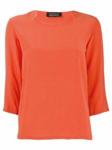 Gianluca Capannolo 3/4 sleeve blouse - Orange