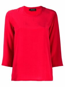 Gianluca Capannolo 3/4 sleeve blouse - Red