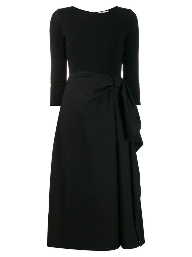 Max Mara party dress with a-line skirt - Black