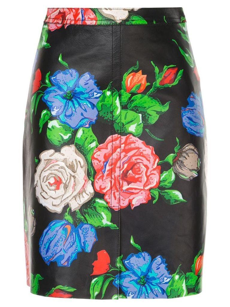 Nina Ricci floral midi skirt - Multicolour