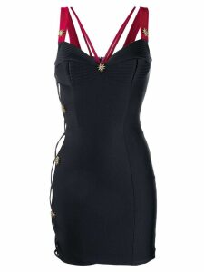 Fausto Puglisi corset mini dress - Black
