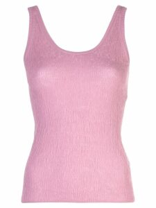 Vince broomstick pleat tank top - Pink