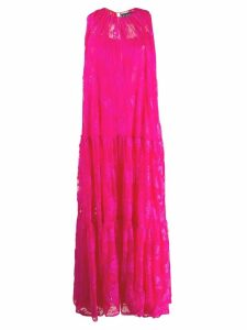 Gianluca Capannolo lace maxi dress - Pink