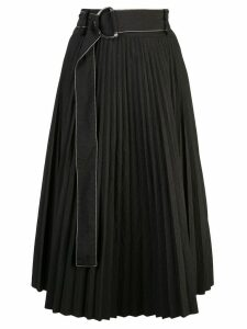 Proenza Schouler PSWL Parachute Pleated Skirt - Black