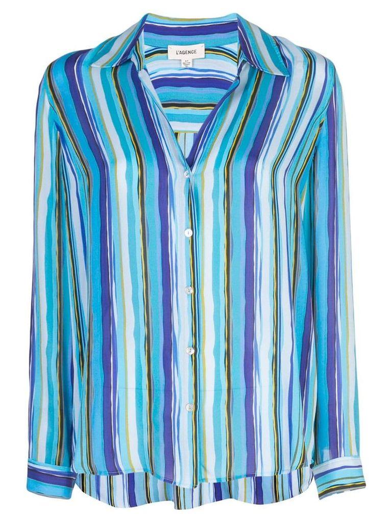 L'agence striped shirt - Blue
