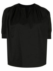 Tomorrowland v-neck blouse - Black