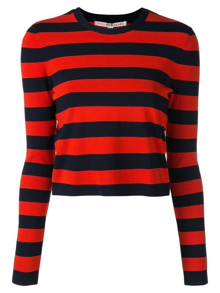 Veronica Beard striped T-shirt - Red