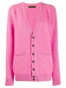 The Elder Statesman knitted cardigan - Pink