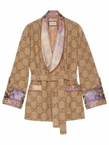 Gucci GG linen jacket - Brown