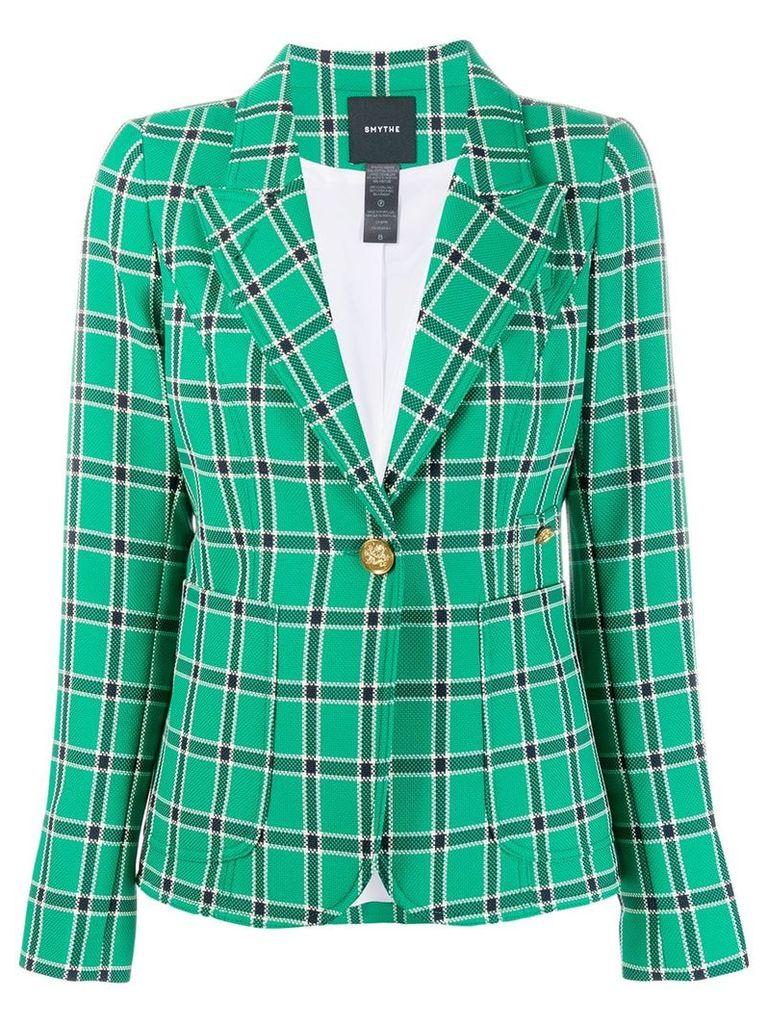 Smythe plaid blazer - Green